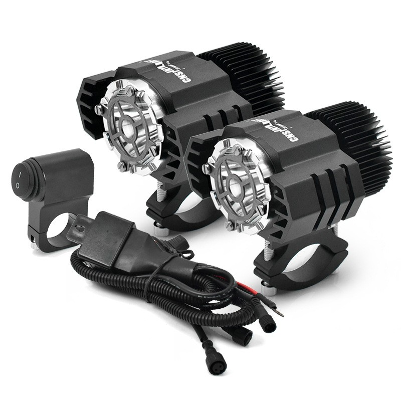 2 motorcycle LED auxiliary fog lights 50W for BMW R1200GS ADV F800GS F700GS F650GS K1600