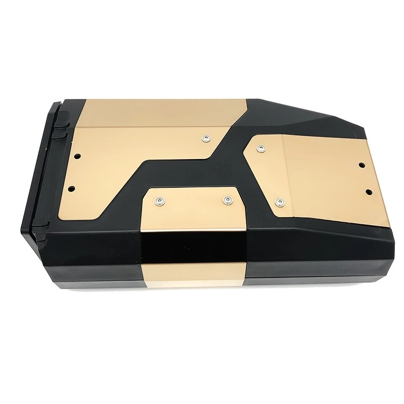 Golden waterproof toolbox is suitable for BMW R1200GS LC Adventure R 1200 GS R1250GS F750GS F850GS