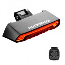 ROCKBROS Bike Tail Light USB Rechargeable Wireless Waterproof MTB Safety Control Turn Sign Bicycle Light Lamp
