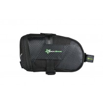 ROCKBROS Folding Nylon Bike Bag with Cover Shockproof Riding Saddle Bag Bicycle Accessories