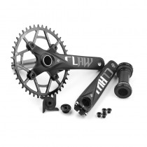 PROWHEEL 104BCD 175mm 170mm crank 30-52T sprocket and chassis mountain bike crank