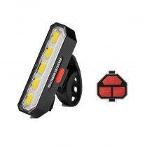 ROCKBROS COB LED Tail Light Remote Control Turn Signal Lamp Auto Start/Stop Powerful Bike Lights