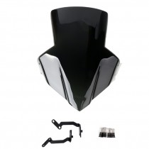 Artudatech ABS Plastic Windscreen Shield with Bracket For Honda CB650F 2014-17 Motorcycle Accessories