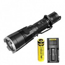 Nitecore MH27 1000 Lumen USB Rechargeable Flashlight, with Multi-Colored LEDs