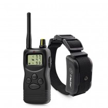 Petrainer 900B-1 is rechargeable and can be extended to 3 dogs 1000M remote dog training collar