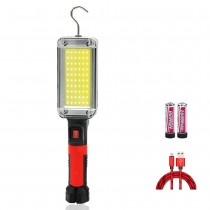 USB Charge Portable LED COB Work Light Torch Floodlight for Car Repair Outdoor Camping