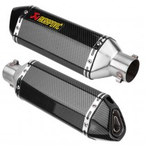 Universal Carbon Fiber Color Motorcycle Scooter Modified Muffler