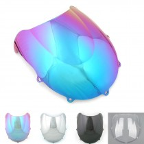 6 Colors WindScreen Double Bubble For Suzuki GSXR 600/750 1996-1999 Wind Shield Motorcycle Parts
