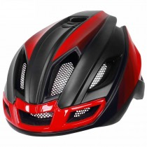 Light bicycle helmet integrated mountain road bike mountain bike helmet with warning light