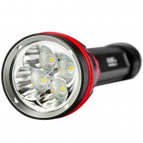 ARCHON DY02 Diving Torch 4 * CREE XP-L Max 4000 Lumens Diving Torch, with 26650 battery charger