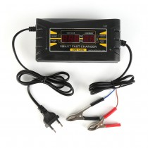 Car Battery Charger Full Automatic 150V-250V To 12V 6A Smart Fast Power Charging Suitable For Car Motorcycle