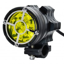 LED motorcycle headlight 6/9 bead LED lamp for BMW R1200GS F800 F700GS front bracket fog lamp