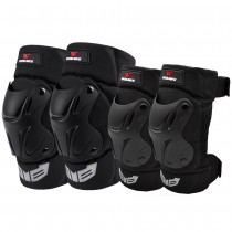 WOSAWE motorcycle adult snowboard volleyball riding arm guards hockey knee pads elbow pads set