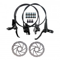 TEKTRO HD-M285 Hydraulic Disc Brake MTB Bicycle Front/Rear Brakes 800/1500mm with 160mm Rotor