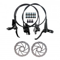 TEKTRO HD-M285 Hydraulic Disc Brake MTB Bicycle Front/Rear Brakes 800/1500mm with 203mm Rotor