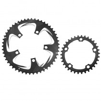 Prowheel 34T/50T 39T/53T Chainring 110BCD 130BCD Sprocket 9/10/11 Speed Chain Wheel Double Crown