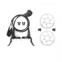 WUZEI M8000 MTB Hydraulic Cooling Brake 800mm/1550mm Front/Rear Brakes G3/HS1 for Shimano MT200 MT315