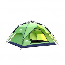 Camping tent for 3-4 people convenient and instant setup portable backpack for travel and hiking