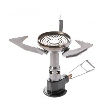 Pressure Regulator Gas Burner Stove Outdoor Ultralight Simmer Control Camping Backpacking Windproof Stoves