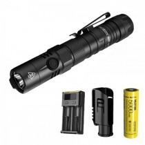 NITECORE MH12 V2 1200 lumens USB rechargeable flashlight with 5000MAH battery