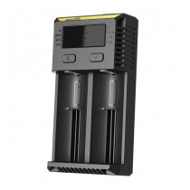 Nitecore D2 - 2 Bay Digital Battery Charger