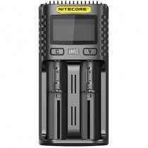 Nitecore UMS2 Superb LCD Battery Charger