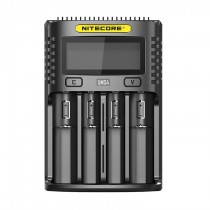 Nitecore UMS4 4 Bay Superb LCD Battery Charger
