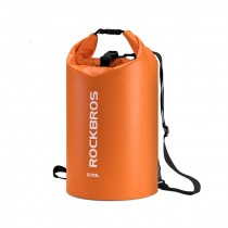 ROCKBROS 20L liters outdoor hiking sports swimming bag PVC waterproof backpack fashion one-shoulder folding bag