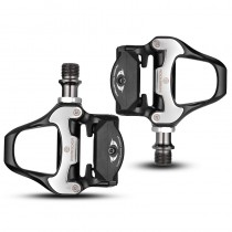ROCKBROS SPD-SL Bicycle Self-locking Pedals Ultralight Aluminum Alloy 2 Sealed Bearing Bicycle Pedal Bike Part
