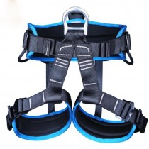 XINDA Arborist Rock Climbing Safety Belt Fall Protection Safety Belt Speed Down Step Equipment